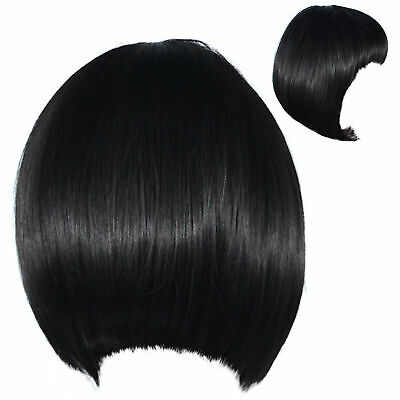 Bob Wig Black Women 20er Years Style Costume New Year's Eve Carnival 7064