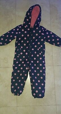 2-3 Years Padded Snowsuit