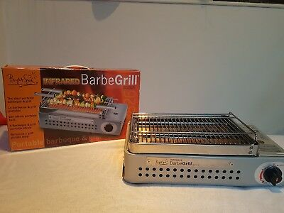 Bright Spark - Infrared BarbeGrill Portabler  Gas Grill - Camping Outdoor