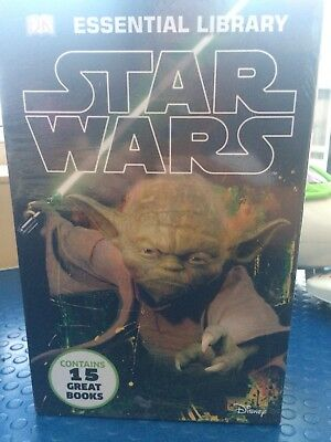 DK Essential Library Star Wars Collection learn to read 15 Books.new And Sealed