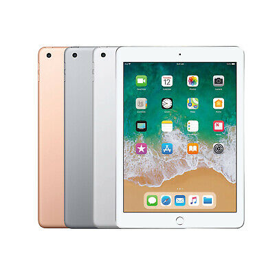 New Apple iPad 6th Generation 9.7 Inch 32GB, 128GB WiFi All Colours (2018)
