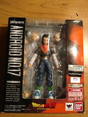 S.h. figuarts dragonball z android 17
