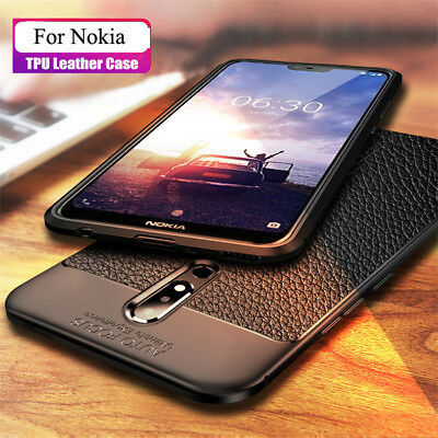 For Nokia 7.1 6.1 5.1 3.1  X6 7 6 5 Shockproof Rubber Soft TPU Matte Case Cover