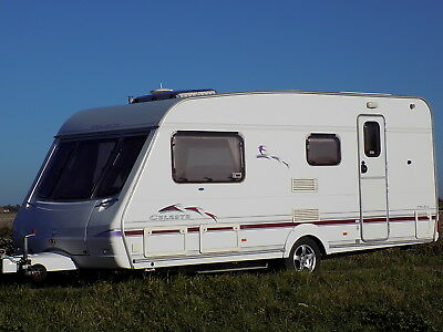 Swift Celeste 19-4L 2004 Year 4 Berth Caravan-  Very Good Condition