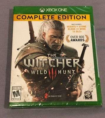 NEW The Witcher 3 Wild Hunt Complete Edition Xbox One