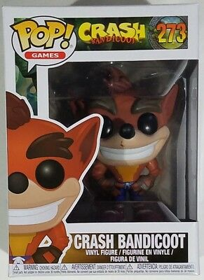 Funko Pop Juegos Crash Bandicoot #273 Figura Vinilo