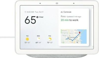 Google GA00516-US Home Hub with Google Assistant - Chalk