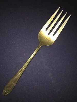 Rogers Bros 1847 Daffodil Large Serving Fork