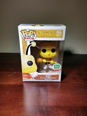 Buzz Bee Funko Pop! Ad Icons: Limited Edition Cheerios!!