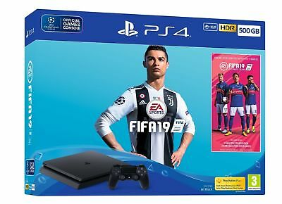 PS4 Slim 500GB Fifa 19 Console NEW & SEALED - IN STOCK NOW!