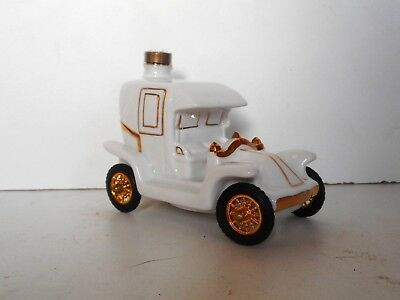 Miniature Mini Bottle Cognac Renault Porcelaine