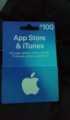 Apple Itunes $100 Card