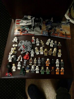 LEGO STAR WARS MINI FIGURES JOBLOT + a few small sets (2 complete with figs)