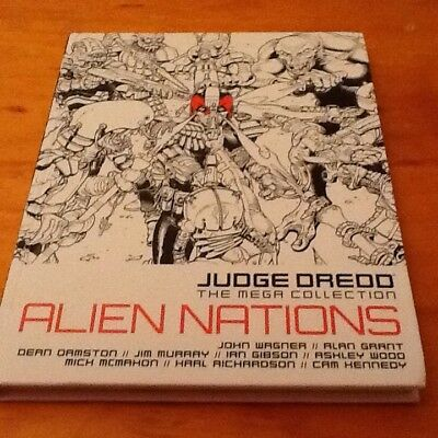 2000 ad judge dredd the mega collection Alien Nations