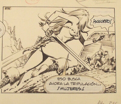 "Axa Comic Strip Original Art May 27 1981"" That is now seeking!"""