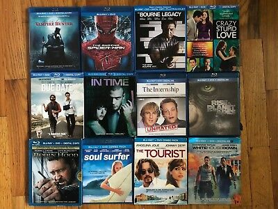 Blu-ray + DVD Movies - All Like-New Condition!! **Read
