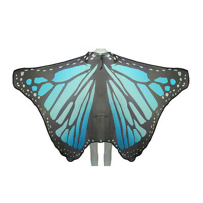 Chic Butterfly Wings Shawl Costume Party Favor Decoration Beach Wrap Coverup