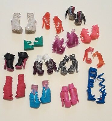 Monster High Ever After High Shoe Boot Lot
