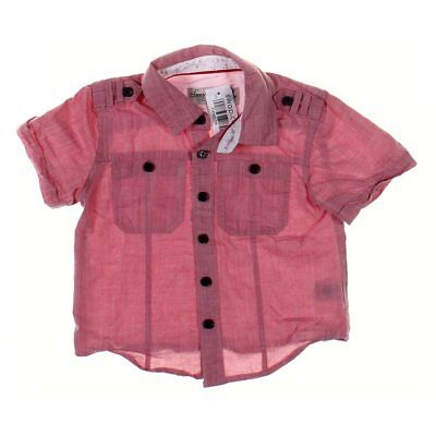 Sovereign Code Boys Shirt, size 2/2T,  pink,  cotton