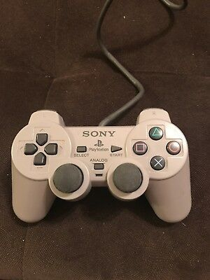 DualShock Sony Gray Official Controller for Playstation 1 PS1 System SCPH-1200