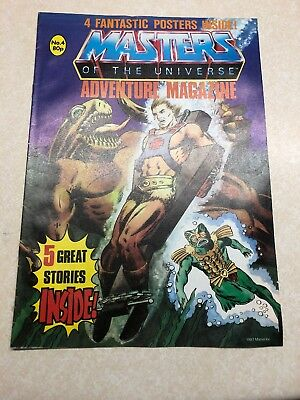 Masters Of The Universe Adventure Magazine Issue No.4 1987