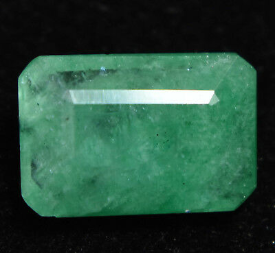 5.20 Ct Natural Green Colombian Emerald AGSL Certified Gem Stone From Muzo