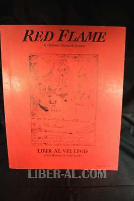 Red Flame Issue No. 8: Liber Al Vel Legis (The Book Of The Law)?
