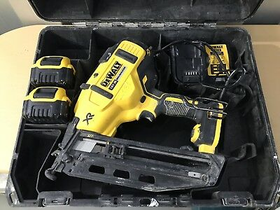 Dewalt Nail Gun Dcn660 18v 5ah Brushless 2nd Fix