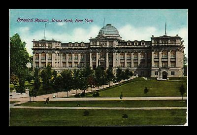 Dr Jim Stamps Us Botanical Museum Bronx Park New York View Postcard