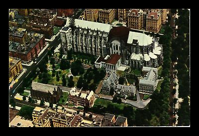 Dr Jim Stamps Us Cathedral St John The Divine New York View Postcard