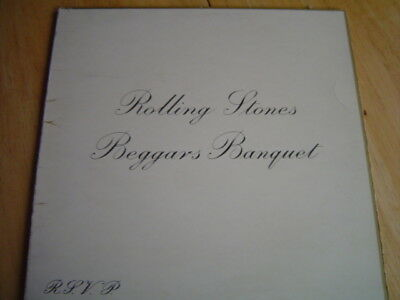 "The Rolling Stones ""beggars Banquet"" Original Uk Stereo Unboxed Label"