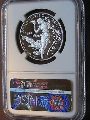 2016 W West Point $100 NGC Proof 70 Early Release Platinum Eagle Perfect Coin!