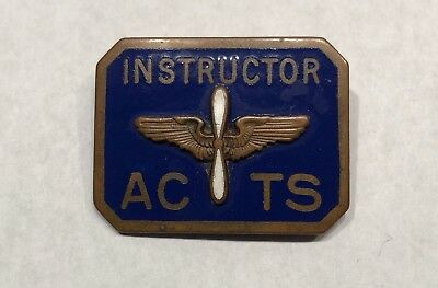 WW2 ACTS Instructors Badge