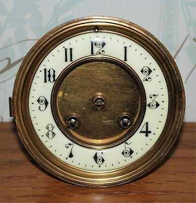 Japy Frere face and movement from a Slate Clock - comes with Key