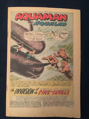 AQUAMAN #1 (1962) Key 1st Silver Age Issue - coverless but affordable