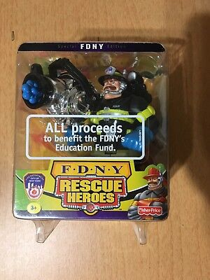 Fisher Price FDNY Rescue Heroes Billy Blazes Action Figure 2001