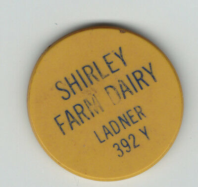 B.C.  , Delta,   Shirley Farm Dairy,  good for one quart special milk