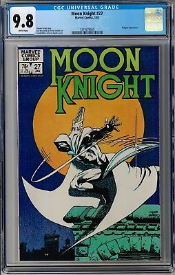 Moon Knight #27 CGC 9.8 (1980 Series) Miller Cover & Grant Story