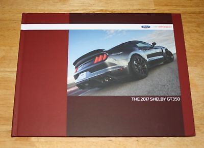 (NEW) 2017 Ford Mustang Shelby GT350 Hardcover Coffee Table Book