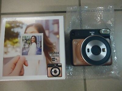 Appareil Photo Instantane Fujifilm Instax Square Sq6 Blusch Gold