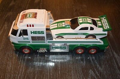 2016 HESS TOY TRUCK AND DRAGSTER Working Lights and Sounds