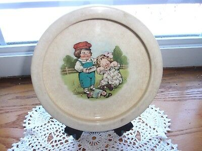 Vintage Campbell Soup Kids Bowl by Buffalo Pottery Circa 1915