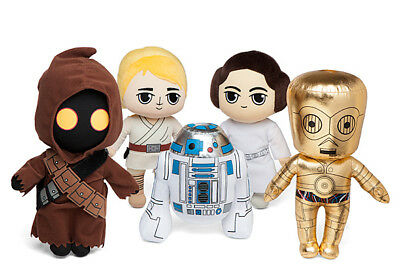 Star Wars 40th Anniversary Plush Collectors Set of 5 Leia R2D2 Luke Jawa C3PO