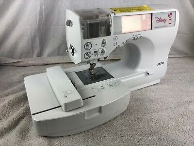 "Brother and Disney ""Mickey"" Sewing and Embroidering Machine Model SE-270D"