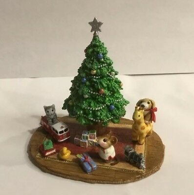 Wee Forest Folk ~**ONE OF A KIND* ~ OOAK~ Merry Christmas Morning Special