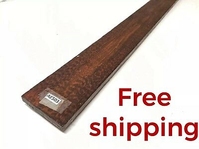 Snakewood Guitar Luthier Tonewood Exotic Lumber Wood Fret Finger board AE503