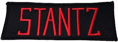Ghostbusters Movie STANTZ Uniform Name Tag Iron-on/Sew-on PATCH