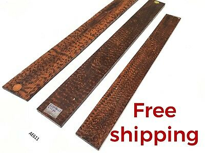 Snakewood Guitar Luthier Tonewood Exotic Lumber Wood Fret Finger board AE611