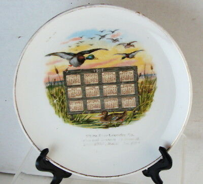 Orig 1911 White Star Laundry Co Brockton, Mass Ducks In Flight Advertising Plate
