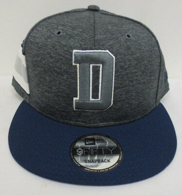 Dallas Cowboys 2018 Home D Sideline Cap Hat Snapback 9Fifty New Era Mens Nfl c08f2573afb